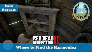 Sadie's Harmonica Location - Camp Item Request - Red Dead Redemption 2