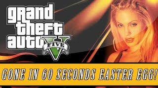 "Grand Theft Auto 5 | Gone In 60 Seconds ""Blacklight"" Easter Egg! (GTA 5 Easter Eggs)"