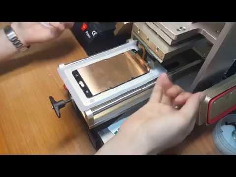 Замена стекла Samsung Galaxy A7 SM-A700F полный процесс LCD Refurbishing