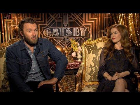 The Great Gatsby - Isla Fisher & Joel Edgerton Interview - Official Warner Bros. UK