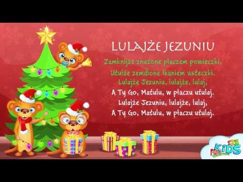 Lulajże Jezuniu - Polskie Kolędy + Tekst (karaoke)