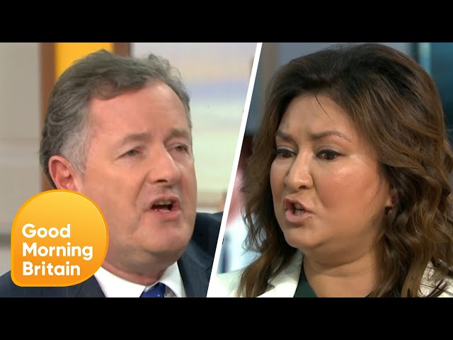 The Crisis Talks Over Prince Harry and Meghan Markle Spark a Heated Debate! | Good Morning Britain thumbnail