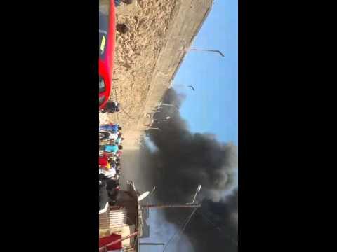 حريق بمصنع بحي سيدي مومن بالدار البيضاء خلق رعبا لدى الساكنة المجاورة والمارة..