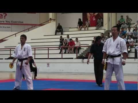 Kyokushin Karate Tournament 2012_ Tomokazu Suzuki vs Nirman Rai Image 1
