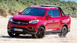 New 2019 - Ssangyong Musso 4x4 Rhino Pick Up Truck