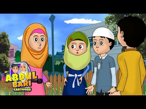 Umar and Abdullah Defaming Azhar Abdullah series Urdu Islamic Cartoons for children