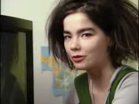 Björk talking about her TV