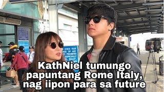 Kathryn Bernardo and Daniel Padilla Alamin mga Future Plans | Trip | 💙💙💙 | Airport Interview