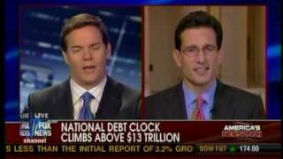 Republican Whip Eric Cantor Discusses Deficits, Democrat Spending & YouCut
