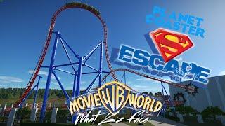Planet Coaster - Superman Escape 2