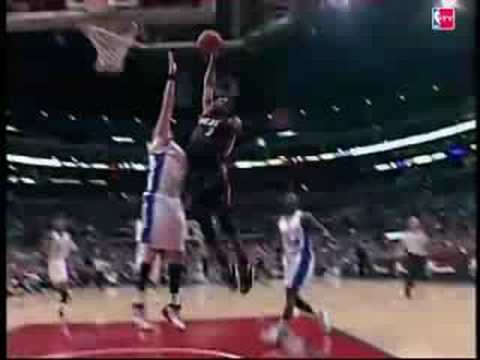 dwyane wade dunking on someone. dwyane wade dunking on someone. Dwyane Wade dunks over Kaman