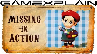Adeleine's Sketchy Disappearance - Missing in Action (Kirby's Dream Land)