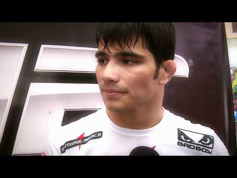 MMA FIGHTER ERICK SILVA INTERVIEW