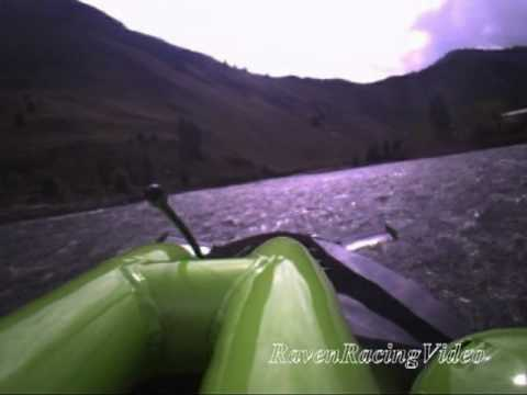 Turbine Jet Boat Onboard... Riggins Idaho 2011 (Upriver Run)