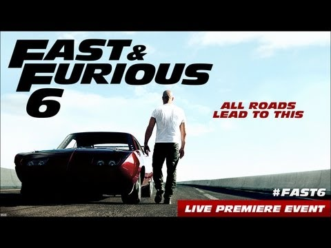 Fast & Furious 6 Premiere Event video