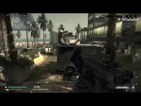 COD GHOSTS: ESCOPETA, CRANKED, FAL, UAV Y PERROS!!