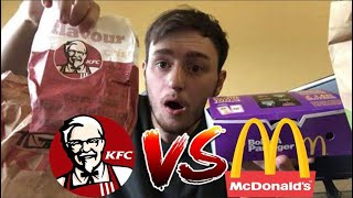 DÉGUSTATION MC DONALD'S VS KFC (hot wings)