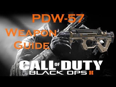 PDW-57 Sub Machine Gun Best Class Setup, Call of Duty Black Ops 2 Weapon Guide