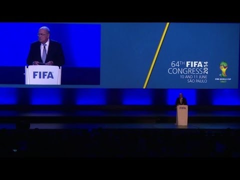 FIFA Congress stung by Blatter resign calls