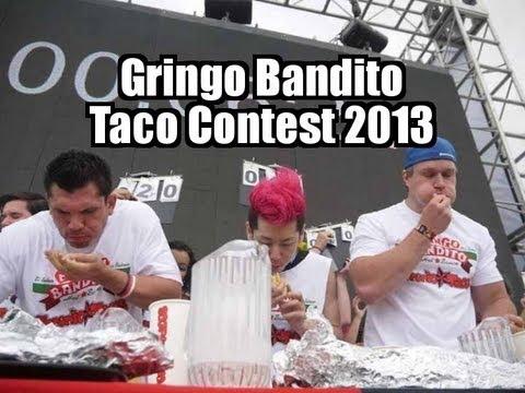 Gringo Bandito Taco Eating contest 2013 - Furious Pete & Kobayashi