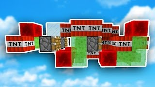 The NEW TNT WARS will BLOW YOUR MIND... (Minecraft)