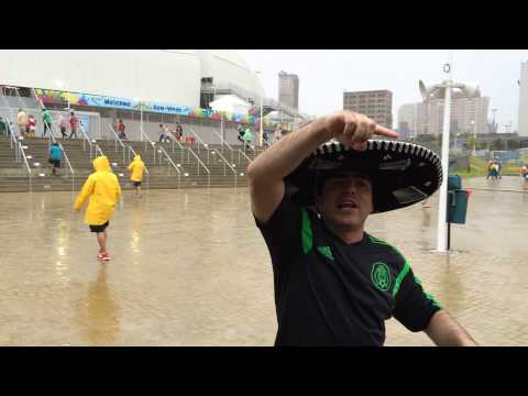 World Cup Brasil '14: Pre-Game Mexico vs Cameroon