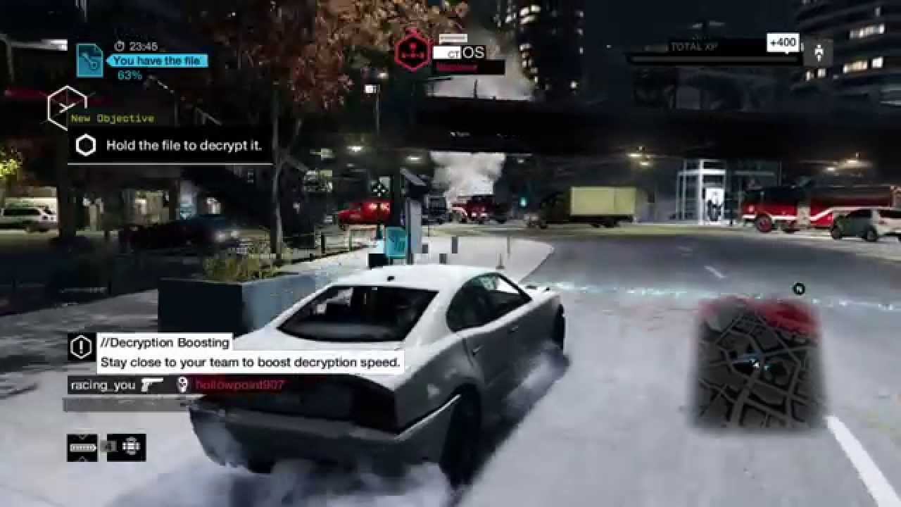 Watch Dogs  Online Preferences