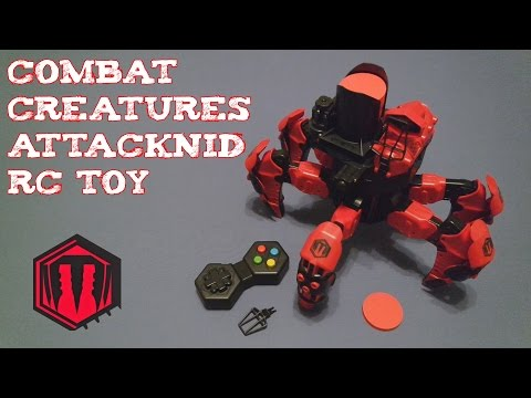 (Review) Combat Creatures Attacknid RC Toy