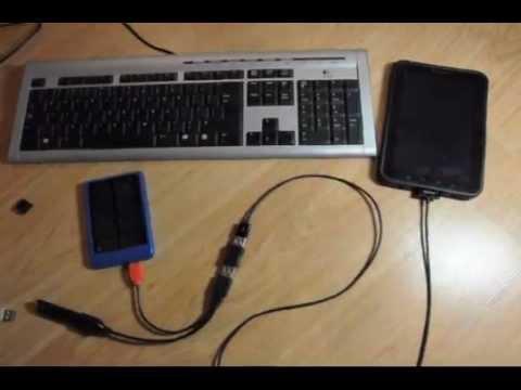 Подключение USB и PS/2