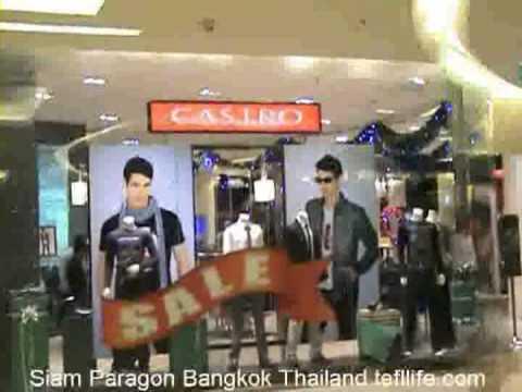 Sean at Siam Paragon Bangkok Thailand