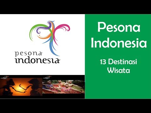 Wonderful Indonesia - 13 Travel Destinations