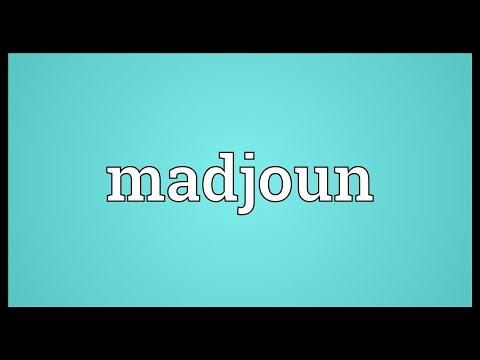 Header of Madjoun