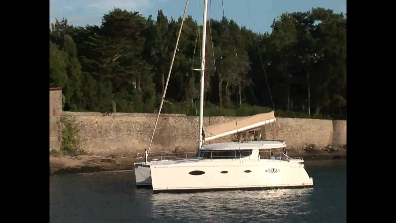 Fountaine Pajot Salina 48 Video Fountaine Pajot Salina 48