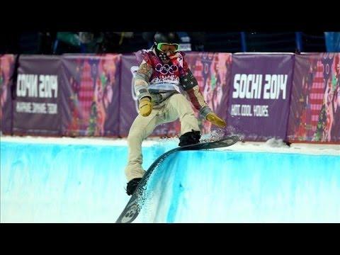 Shaun White Falls in Halfpipe, Fails to Medal | Sochi 2014