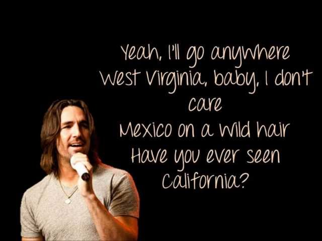 Jake Owen - Anywhere With You +Lyrics