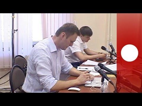 Verdict due in trial of Kremlin critic Alexei Navalny