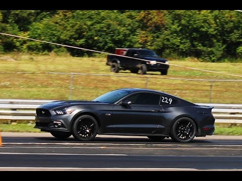11.03 et @ 131mph - 727hp roushcharged mustang GT - REAR CAMERA