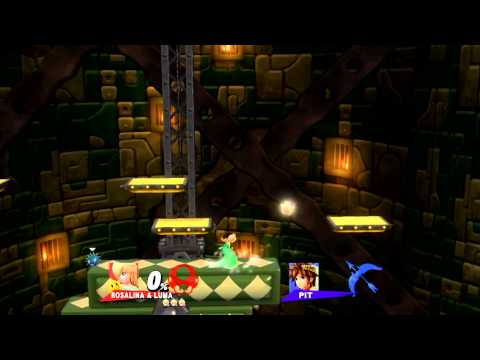Super Smash Bros. for Wii U/3DS at SDCC: All 1v1 matches