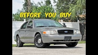 Watch This BEFORE You Buy a Crown Victoria Police Interceptor!
