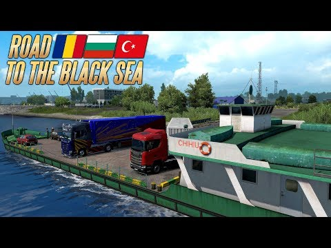 ETS2 Road to the Black Sea - Die Fähre in Rumänien I First Look