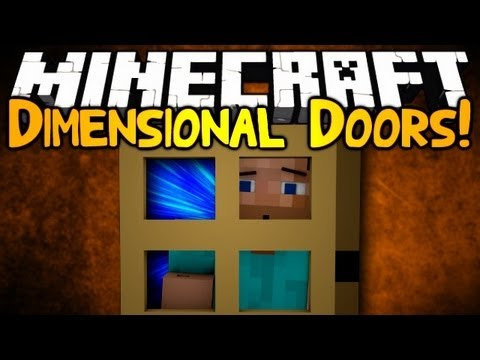 Minecraft: Mod Showcase | DIMENSIONAL DOORS!