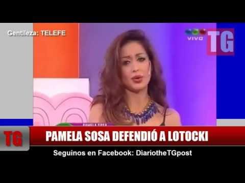 Así defendía al cirujano Lotocki la modelo Pamela Sosa cuando salió a la luz lo de Silvina Luna