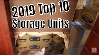 Top 10 Abandon Storage Units In 2019! Count Down..