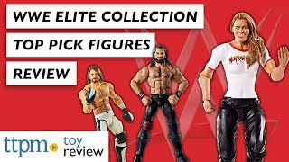 WWE Elite Collection and Top Pick Figures from Mattel