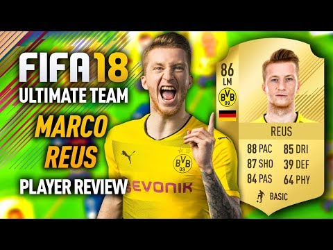 FIFA 18 MARCO REUS (86) PLAYER REVIEW! FIFA 18 ULTIMATE TEAM!