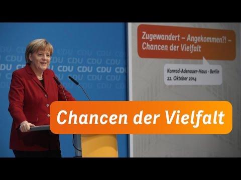 Die Rede von Angela Merkel: