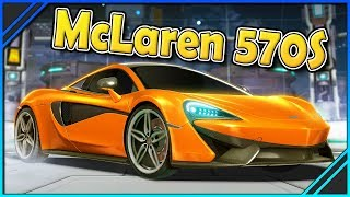 Neuer McLaren 570S DLC 🔮 Rocket League
