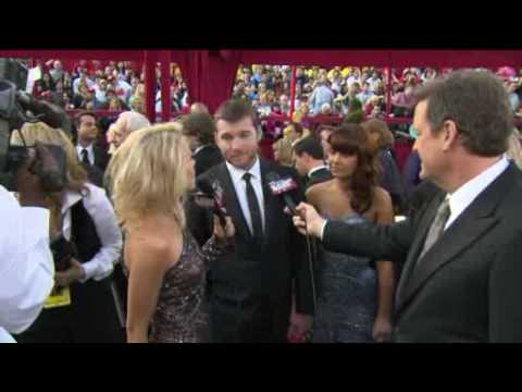 Sam Worthington from Avatar on the Red Carpet at The Academy Awards 2010 Video