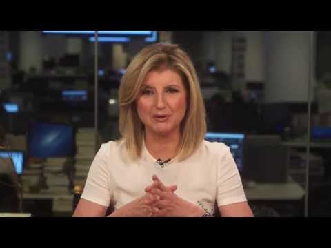 Arianna Huffington speaks to AIESEC youth leaders
