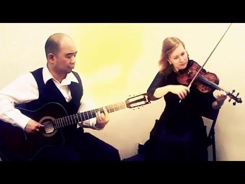Don't Stop Believin' Guitar & Violin Duo